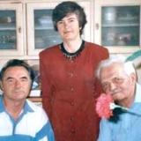 На день народження до Павла Глазового завітали давні друзі – Анатолій Паламаренко та Ольга Парадовська 30 серпня 1996 року