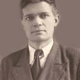 Павло Глазовий – студент Київського педагогічного інституту 1950 рік