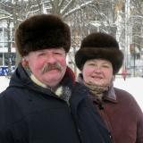 Подружжя Кременiв на вулиці Радянській в Миколаєві 2
