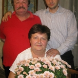 Дмитро i Ольга Кременi з сином Тарасом 2