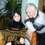 В. Качурин и Л. Матвеева. 2012 г.