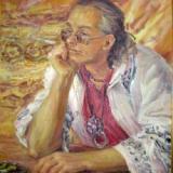 поэт Аркадий Суров. Картина Ольги Артым 2009 г.