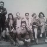 1990 г. Москва А. Вербец с однокурсниками