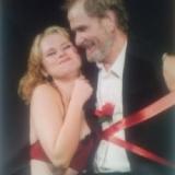 Артисты А. Вербец и М. Васильева в пьесе Бесприданница 2006 г.