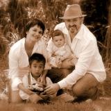 Семья дочери Алены в Сан-Франциско. Калифорния, США. Фото из архива В. Бабича