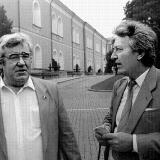 С директором Черноморского завода Юрием Ивановичем Макаровым в Кремле. 1988 год. Фото из архива В. Бабича