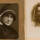 Родители Сары. Мать - Ф.Гимельфарб. Отец - А. Бронисман