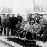 Писатели Николаевщины во время посещения Ингулецкой оросительной системы. 1975 г.