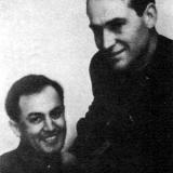 Писатели Савва Дангулов и Рувим Моран