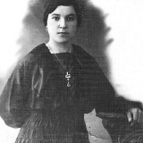 Маруся Кирнасова - будущая жена А.М. Топорова