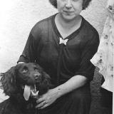 Супруга А.М. Топорова в Вене 1947 г.